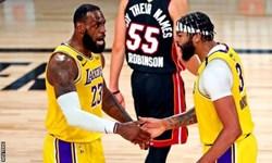 لیگ بسکتبال NBA| تداوم صدرنشینی لیکرز و بوستون