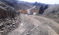 بازگشایی 32 کیلومتر از محور صعب العبور هیدوچ به کلوکی شهرستان سیب و سوران