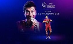 لواندوفسکی برترین بازیکن جهان از نگاه گل/مسی سوم و رونالدو پنجم شدند