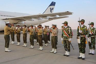 مراسم استقبال از بازگشت پیکر شهید هاکوپیان بعد از 32 سال