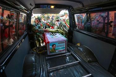 بازگشت پیکر شهید هاکوپیان بعد از 32 سال