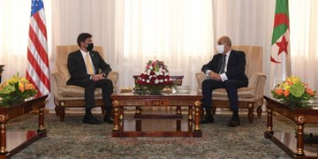 دیدار وزیر دفاع آمریکا با رئیسجمهور الجزائر