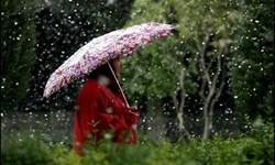 بارش پراکنده باران همراه با وزش باد در استان ایلام