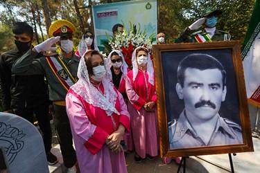 مراسم تشییع پیکر شهید هراچ هاکوپیان