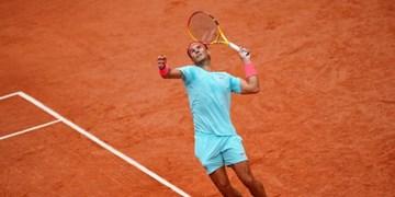 تنیس آزاد فرانسه صعود نادال به یک چهارم/ زورف حذف شد