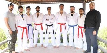 برگزاری تمرینات تیم کاراته کارگران آذربایجانشرقی در تبریز