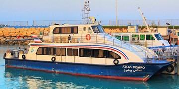 تردد شناورهای مسافری در مسیر بندرعباس به قشم و هرمز از سر گرفته شد