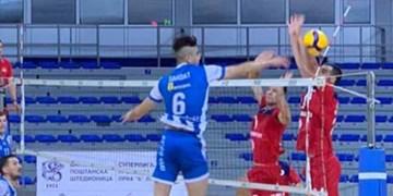 لیگ والیبال صربستان| نیس با وجود درخشش سعادت باخت