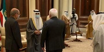 ظریف به کویت رفت؛ دیدار با امیر جدید و وزیر خارجه و ابلاغ تسلیت ایران