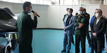 بازدید دو عضو شورای نگهبان از دستاوردهای جدید نیروی هوافضای سپاه