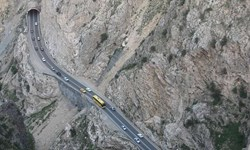 ممنوعیت تردد کامیون  در محور هراز تا بامداد روز پنجم آبان/انسداد 5 جاده