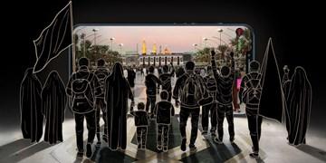 جاماندگان اربعین با دیدن این عکس آرامش میگیرند + فیلم