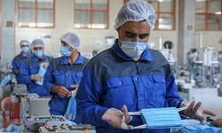 فیلم| وجود۹۴۰۰ کارگاه تولید ماسک به همت جهادگران بسیجی