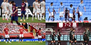 سنگینترین شکستهای فوتبالی در سال 2020 + عکس