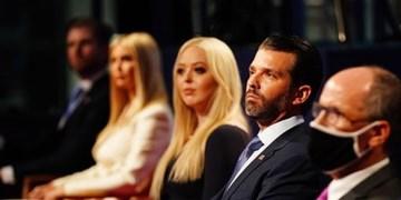 مجری مناظره اول: خانواده ترامپ با نزدن ماسک، قانونشکنی کردند