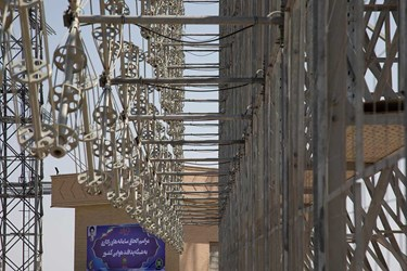 آیین الحاق سامانه راداری قدیر به شبکه پدافند هوایی کشور
