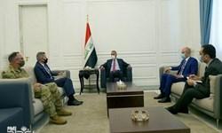 دیدار یک مقام آمریکایی با نخست وزیر عراق