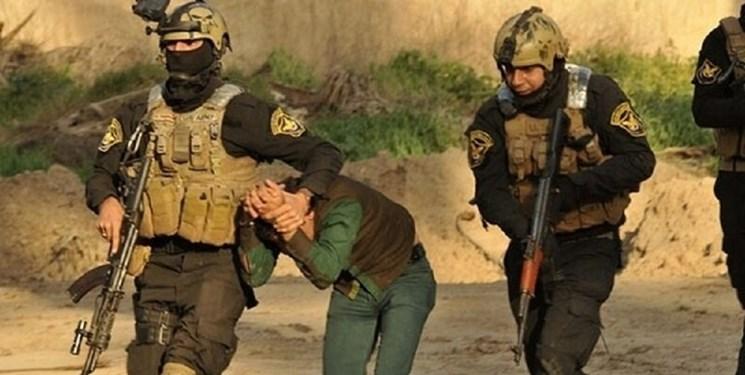 دستگیری 10 عضو  باندهای خفته داعش و کشته شدن 4 تروریست دیگر در عراق