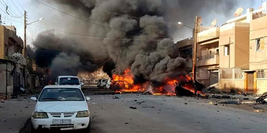 انفجار در الحسکه سوریه؛ 3 تروریست کشته شدند