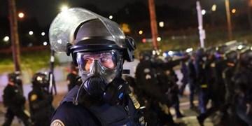 اعتراضات آمریکا  درگیری معترضان با نیروهای فدرال در پورتلند