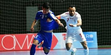 دومین پیروزی تیم ملی فوتسال در مقابل رقیب سنتی خود در آسیا