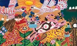 اثر دو کودک کرمانشاهی «رتبه اول» نقاشی یونیسف را کسب کرد