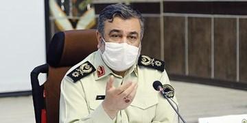 سردار اشتری: مأموریتهای نیروی انتظامی تعطیلبردار نیست
