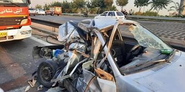 4 کشته در تصادف محور اهواز - هفتکل