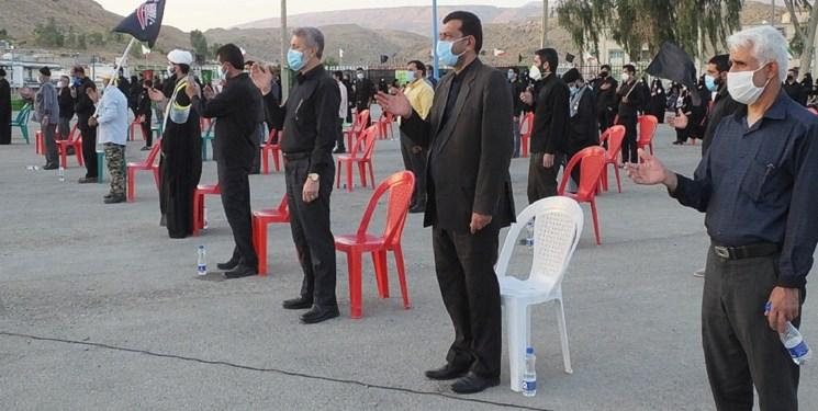 اجتماع جاماندگان اربعین  حسینی در جوار شهداء گچساران برگزار شد