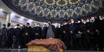 اقامه نماز بر پیکر «محمدرضا شجریان» در بهشت زهرا(س)