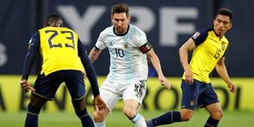 انتخابی جام جهانی 2022   پیروزی آرژانتین با گل مسی و باخت شیلی مقابل اروگوئه