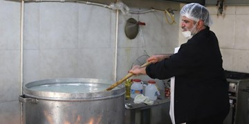 پخت 10 هزار پرس غذای گرم بهمناسبت اربعین در بندرعباس+تصاویر
