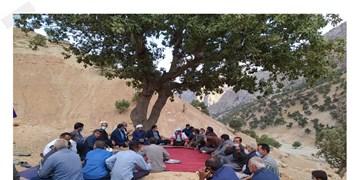 میز خدمت مسؤولان کهگیلویه به روستاها رسید+فیلم و عکس