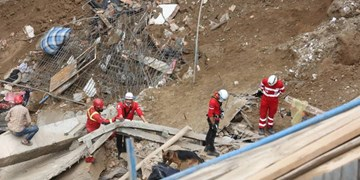 فوت ۲ نفر در حادثه آوار منطقه ۱۷ تهران