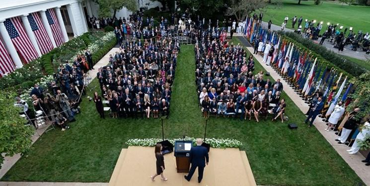 منشا خوشه ابتلا در کاخ سفید مشخص شد
