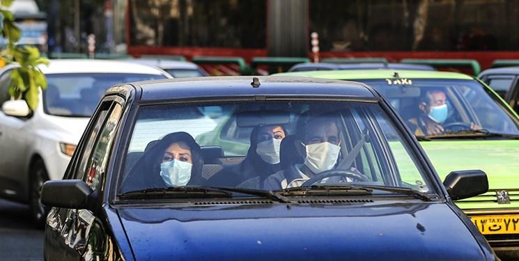 6000 خودرو جریمه «بیماسکی» شدند/ تذکر لسانی پلیس به 360 هزار نفر