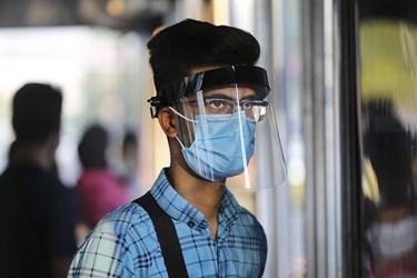 ماسک اجباری شد / ایستگاه مترو میدان انقلاب