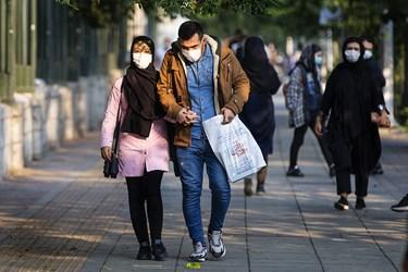 ماسک اجباری شد / دانشگاه تهران