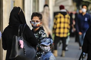 ماسک اجباری شد / میدان انقلاب