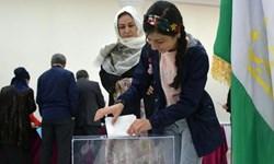 انتخابات ریاست جمهوری تاجیکستان به روایت تصویر