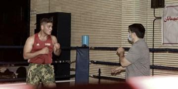 تمرینات تیم بوکس جوانان در سنندج کلید خورد