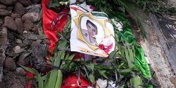 پیکر «شهید علی بیرامی» در مزار شهدای پارسآباد آرام گرفت