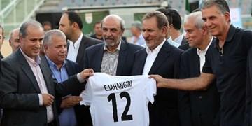 آقای جهانگیری! شما باید پاسخگوی وضع فوتبال باشید/ مدیران وزارت ورزش را استیضاح نه! از کشور بیرون کنند