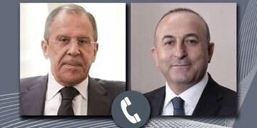 گفتوگوی تلفنی چاووشاوغلو و لاوروف درباره آتشبس در «قره باغ»