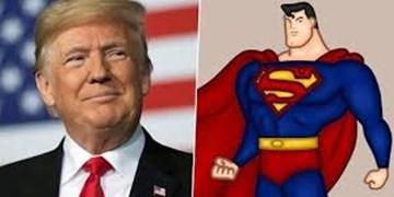 تمسخر گسترده ترامپ به خاطر ایده پوشیدن لباس سوپرمن