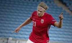 لیگ ملتهای اروپا| درخشش هالند این بار در ترکیب تیم ملی نروژ