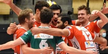 لیگ والیبال بلژیک| پیروزی گرینیارد با حضور دو ستاره ایرانی