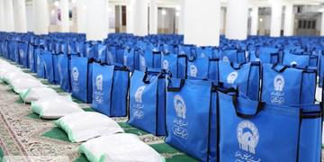 توزیع ۱۵۰ بسته معیشتی آستان قدس رضوی در همدان/ هدیه ۷۰۰ کارت نان