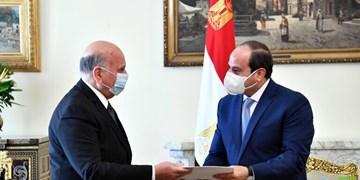 وزیر خارجه عراق، نامه «الکاظمی» را به رئیسجمهور مصر تحویل داد