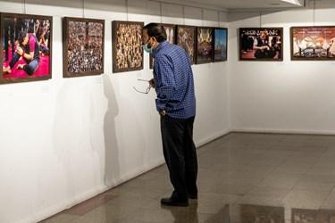 بازدید اصحاب رسانه از نمایشگاه عکس «عطش وصل»